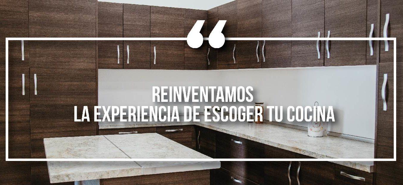 Reinventamos la experiencia de escoger tu cocina. **SORTEO**